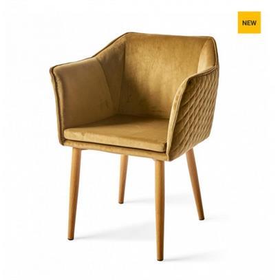 Krzesło Megan Velvet Windsor Gr Riviera Maison-3732