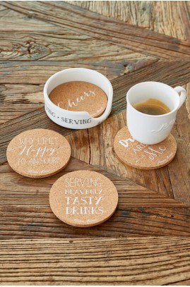 Podkładki Z Korka / Serving Cork Coasters