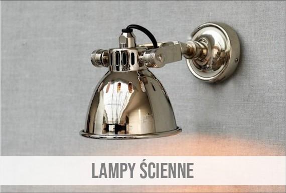 LAMPY ŚCIENNE
